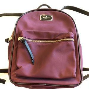 Kate Spade mini backpack purse.